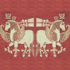 Sassanian Horses