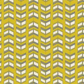 Arrows mustard grey