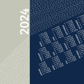 German 2021 Calendar, Monday / Light Refraction