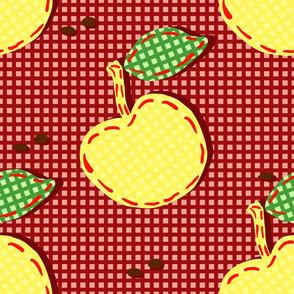 kitchen background apple