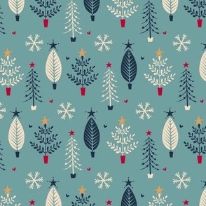 nordic christmas trees 2
