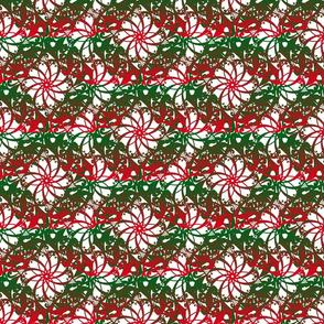 pointsettia wreath
