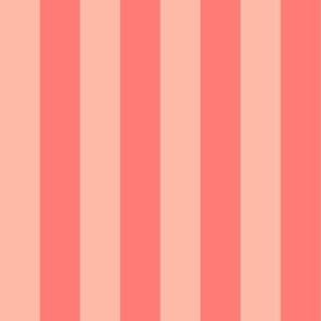 Coral Stripe Vertical