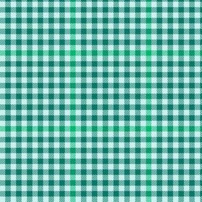 """serene green tartan check, 3"""""""