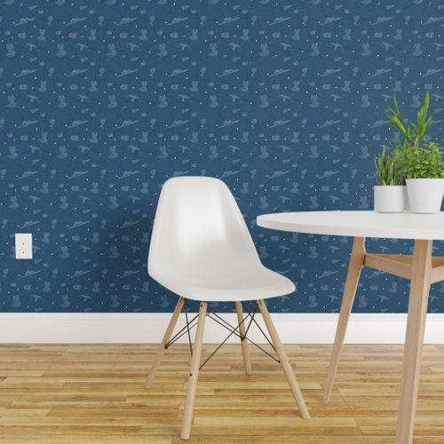 Wallpaper Petit Prince Constellations