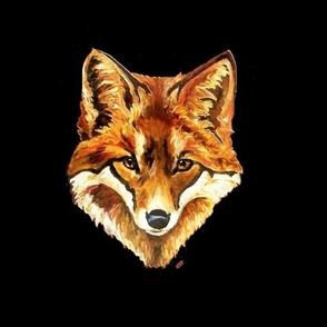 Foxy Fox 18.8 by 14in repeat