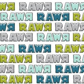 modern dino - multi rawr - RAWR