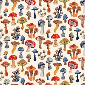 Mushrooms by Angel Gerardo