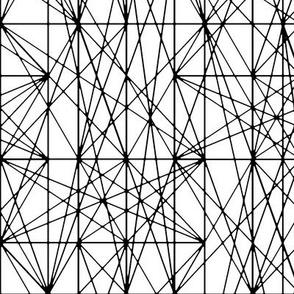 Harmonic Strings - black & white