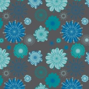 Spoonflower in Charcoal