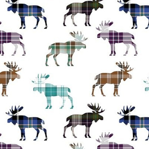 Plaid Moose III // Medium