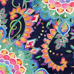 Color Celebration Mandala - large print