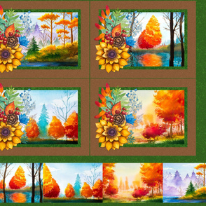 Placemats - Fall Scenes