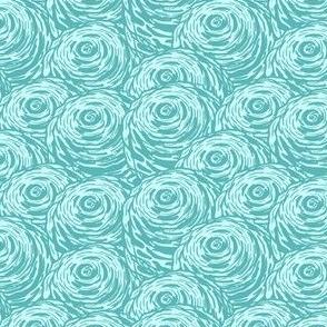 Aquamarine rose