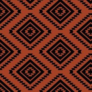Aztec - Black, Cinnamon