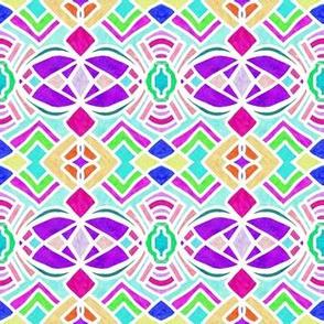 Colorful Bright Geometric