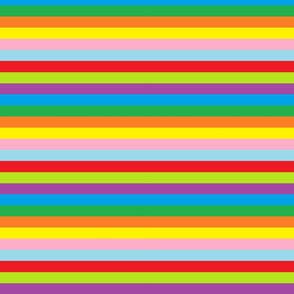 Ice Cream Party Theme - Stripes (Full Color)