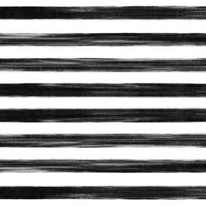 black gouache stripes