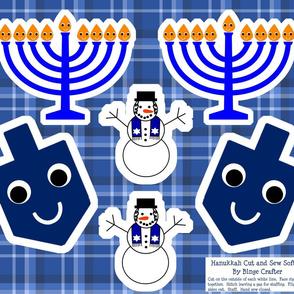 Cut and Sew Hanukkah Softies