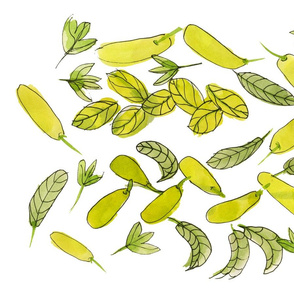 Little Green Peppers