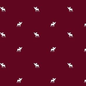 Burgundy Moose, Dense