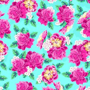 Pretty Peonies Floral