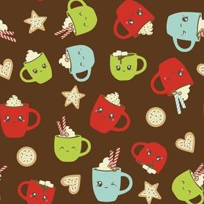 Christmas Mugs and Cookies