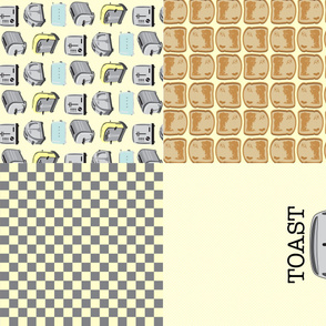 "17-02H 54"" Vintage Retro Toaster Toast 