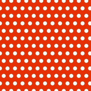 Garden Party - Red Polka Dots
