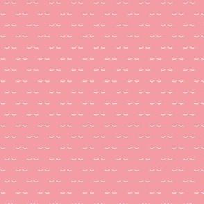 Sweet dreams soft night kawaii eyelash love pink girls