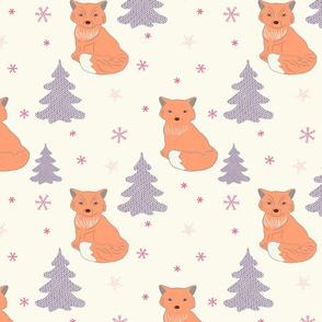Foxy pastel dreams