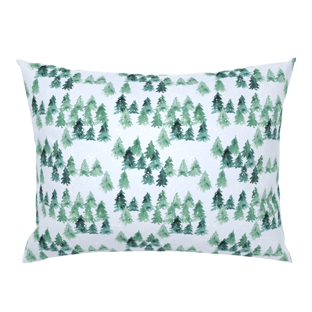 Campine Pillow Sham featuring Chalet_View by joy&ink