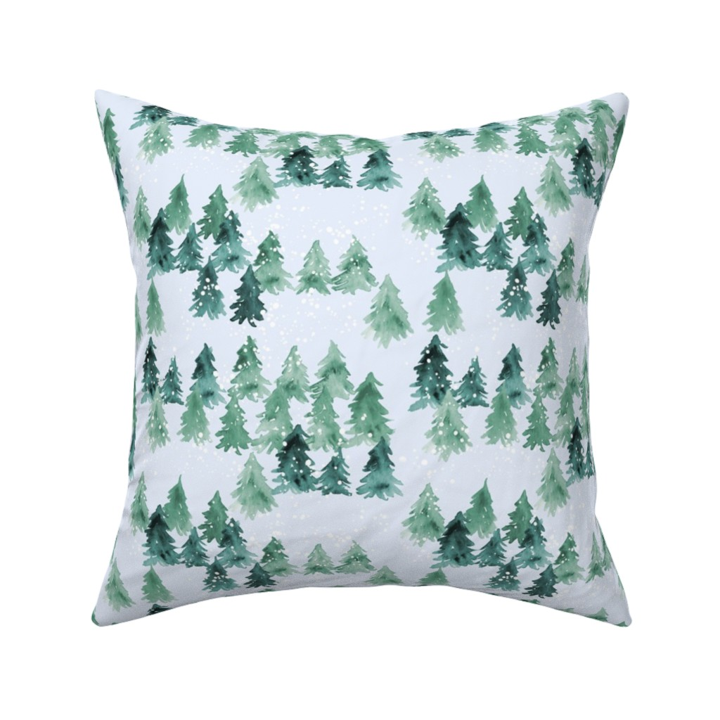 Catalan Throw Pillow featuring Chalet_View by joy&ink