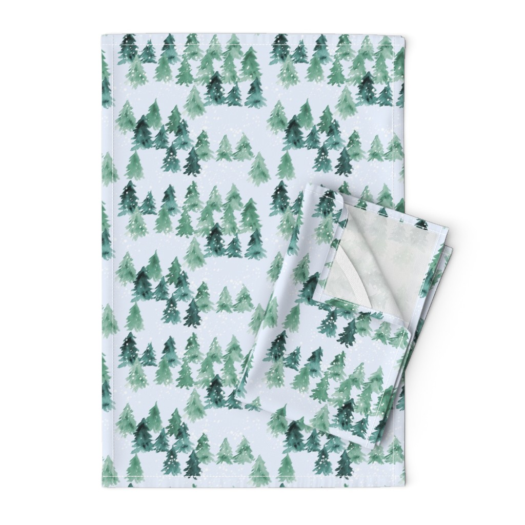 Orpington Tea Towels featuring Chalet_View by joy&ink