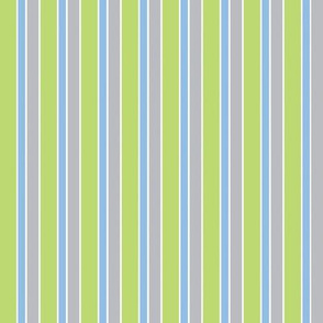 Baby Boy Blue Antarctic stripe pattern
