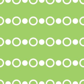 Baby Boy Antarctic dot pattern green