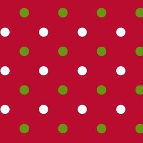 Red Christmas Dot