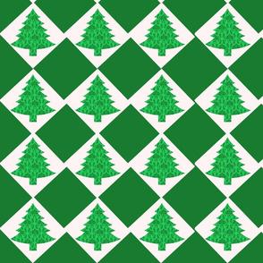 Tree Checkers Green