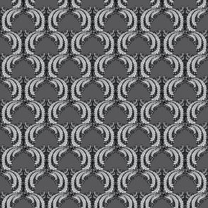 classic damask grayscale