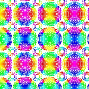 Rainbow Spoon Flowers