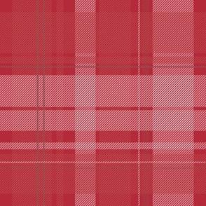 Lumberjack plaid - Red and White