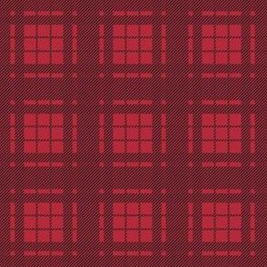 Lumberjack Plaid - Black and Red