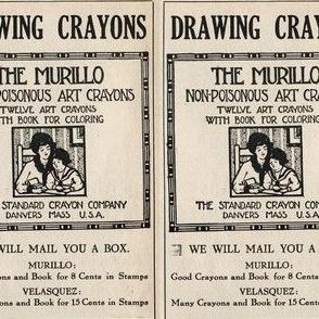 1915 Non-Poisonous Crayon ad