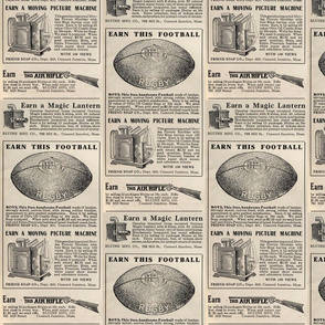 1915 large scale boy toys advertisement (sell soap premiums)