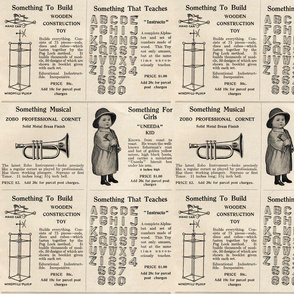 1915 Toy advertisements (large scale)