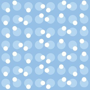 Baby Boy Blue Antarctic bubble pattern
