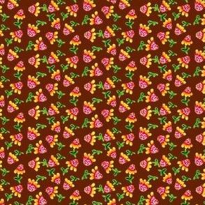 Tiny_Sunflowers_Brown