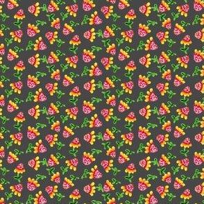 Tiny_Sunflowers_Charcoal