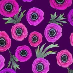 purple Flowers, lilac, violet, plum, magenta floral