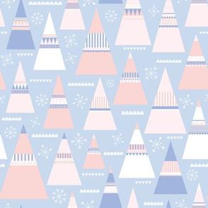 Pastel Folk Christmas